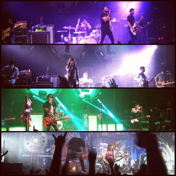 What a night. #denver #ogdentheater #concert #youmeatsix #maydayparade #alltimelow #piercetheveil #springfevertour  (at Ogden Theatre)