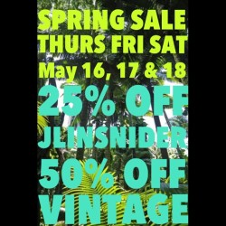 💥💥SPRING SALE STARTS TOMORROW💥💥 (at JLINSNIDER)