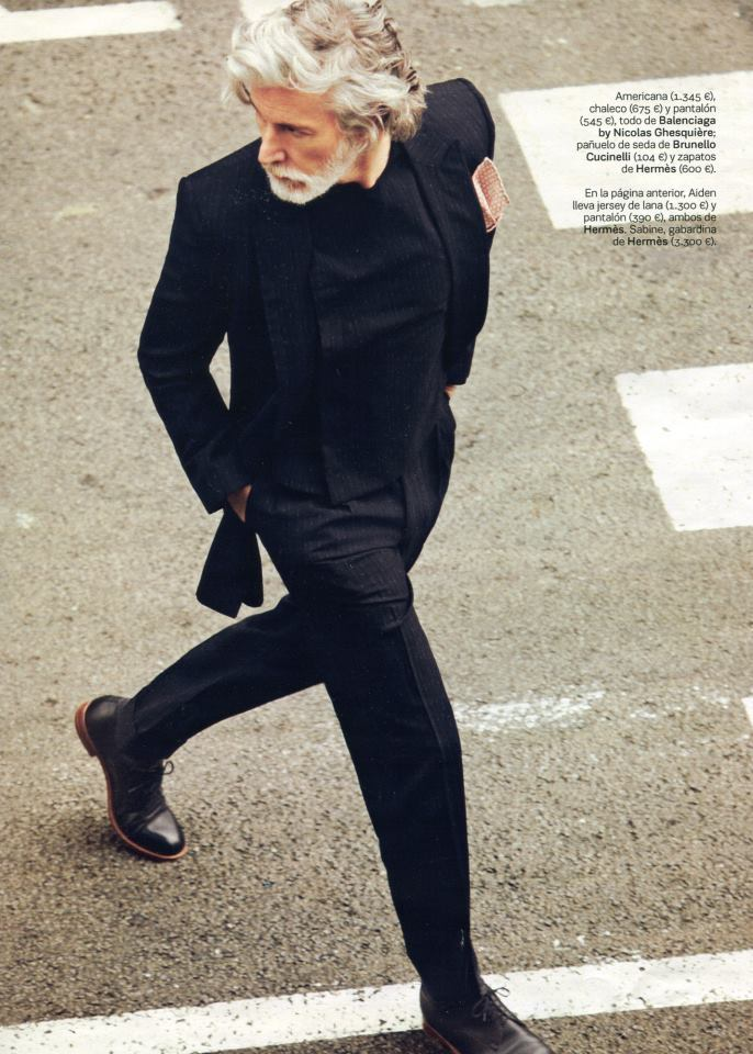mensfashionworld:  Aiden Shaw by Daniel Riera for S Magazine