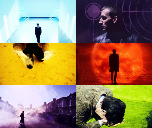 """I walked away from the Last Great Time War. I marked the passing of the Time Lords. I saw the birth of the universe and I watched as time ran out, moment by moment, until nothing remained. No time. No space. Just me. I've walked into universes where the laws of physics were devised by the mind of a madman. I've watched universes freeze and creations burn. I've seen things you wouldn't believe. I've lost things you'll never understand. And I know things. Secrets that must never be told. Knowledge that must never be spoken."""