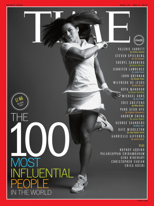 thesmithian:  Time.  Plus Chris Evert's piece on Li Na's influence.