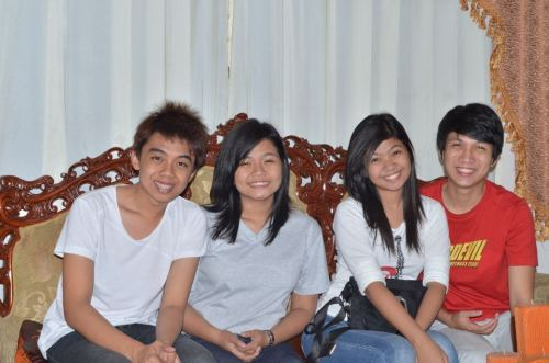 Thesismates! Hahaahahaha i love you guyth mwa mwa