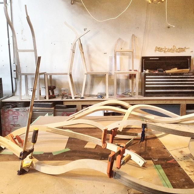 Making of United We Stand | #design #craft #art #toronto (at Rob Southcott Studio Works)