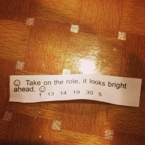 My fortune! http://bit.ly/1662eCY