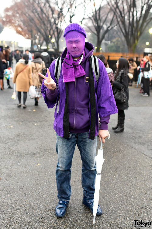 """All Live Nippon"" Concert Fan Fashion Snaps in Harajuku (Source: Tokyo Fashion)"