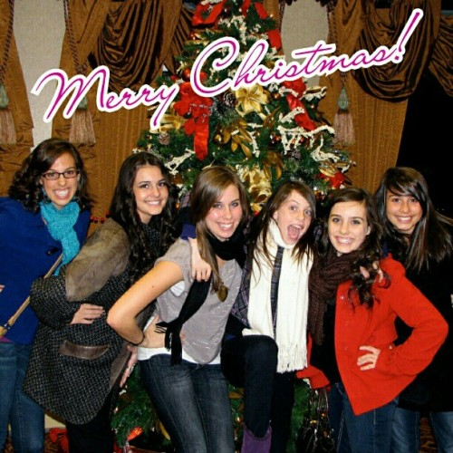 Merry Christmas from Cimorelli. Throwback ;-)