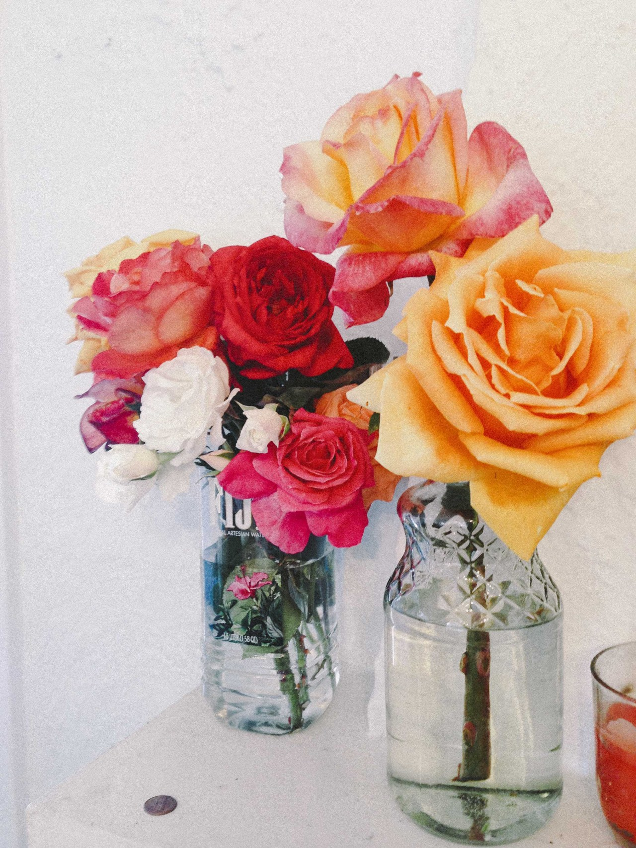 gypsyone:  Summer roses