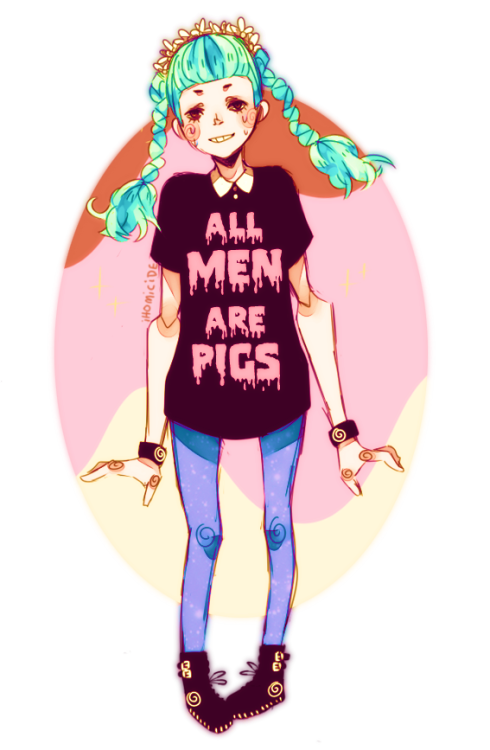 kingpickle:  ihomicide:  ( ͡° ͜ʖ ͡°)  most men are pigs :P