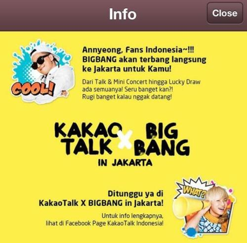 @WEKPOPERS: 120413 #KakaoTalkXBIGBANG Bigbang Kakaotalk update.  pic.twitter.com/1rr0yKEq5TPost from @WEKPOPERS on Twitter (via Scope)