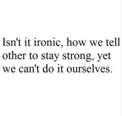 Yeah…really Ironic…