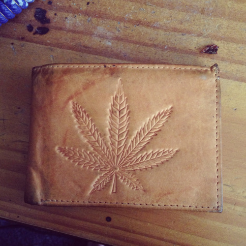 Hand crafted, genuine leather wallet. Perfect.