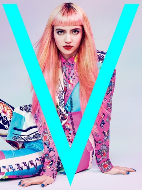 hotfashionbitch:  Grimes featured in V Magazine Spain  this looks like such a Jem n the Holograms shoot!!!!