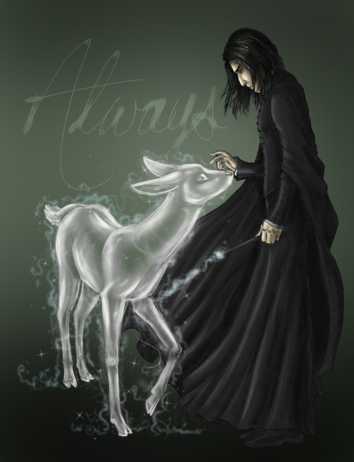 severus-snape-my-eternal-prince:  via - Always - by ~odduckoasis on deviantART