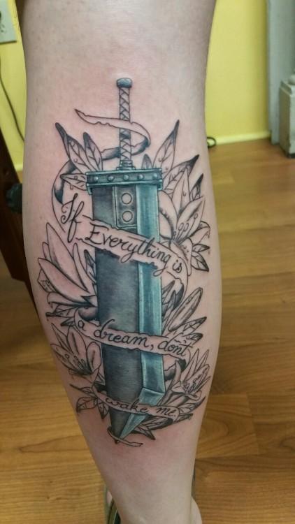 final fantasy tattoo on tumblr