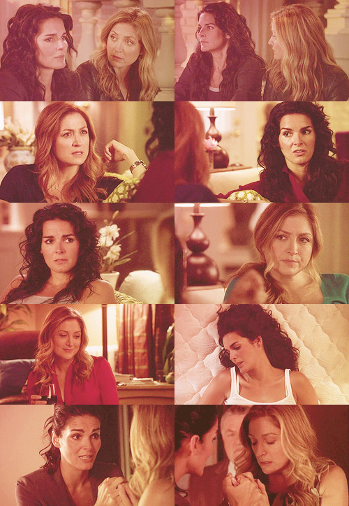"» 10 caps of ""Rizzoli and Isles"" - Maura+Jane"
