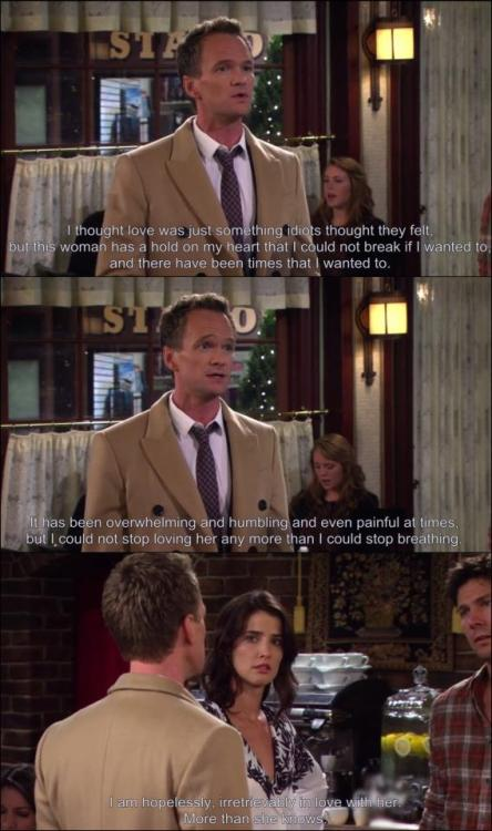 Barney and Robin :3