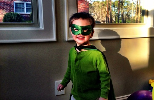 Nothing like a little super hero fun before school! – View on Path.