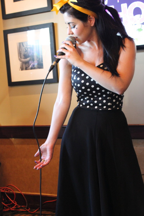—Marina & the Diamonds in Virginia Beach, VA for the USA Radio Tour
