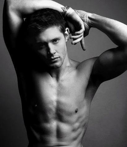 hollygossip:  When Angels go Shirtless-Jensen Ackles