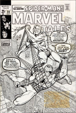 Marvel Tales #28. Art by Marie Severin and Bill Everett.