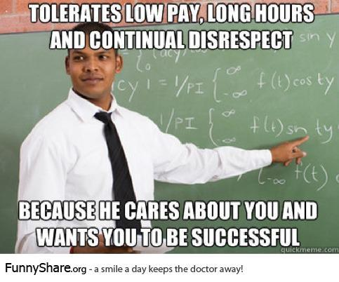 Good guy teacher