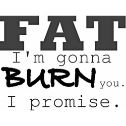 #Fat I'm gonna #BURN 🔥you… I #promise.💪 (at 24 Hour Fitness)