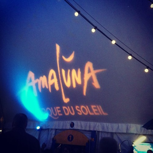 this is where I am!!! #cirquedusoleil #amaluna