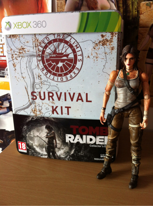 Very happy to now have this in my possession :)  Tomb Raider Collector's Edition (360)  ~TRK's Tomb Raider Collection~