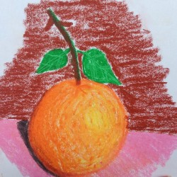 Renn's #artwork #orange #fruit #mcc