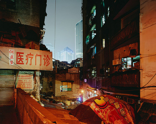 curryandricee:  chongqing by harry kaufmann on Flickr.