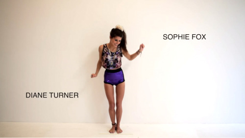 Skye from Secret Emporium wearing Sophie Fox Lilac Mirror Crop Top Stills from http://www.secretemporium.com/en/ Video.