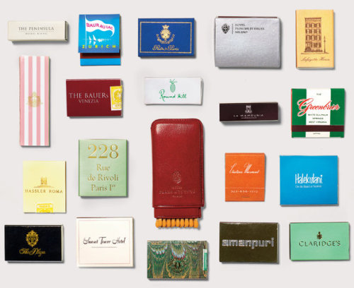Hotel Matchbooks.
