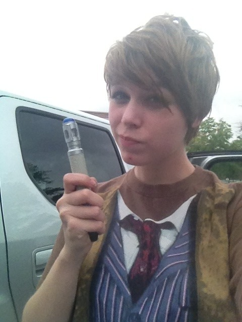 highfiveimhayley:  Female 10th Doctor. Cause I can.