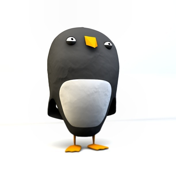 Flynn the Penguin.  #animation #character  #design