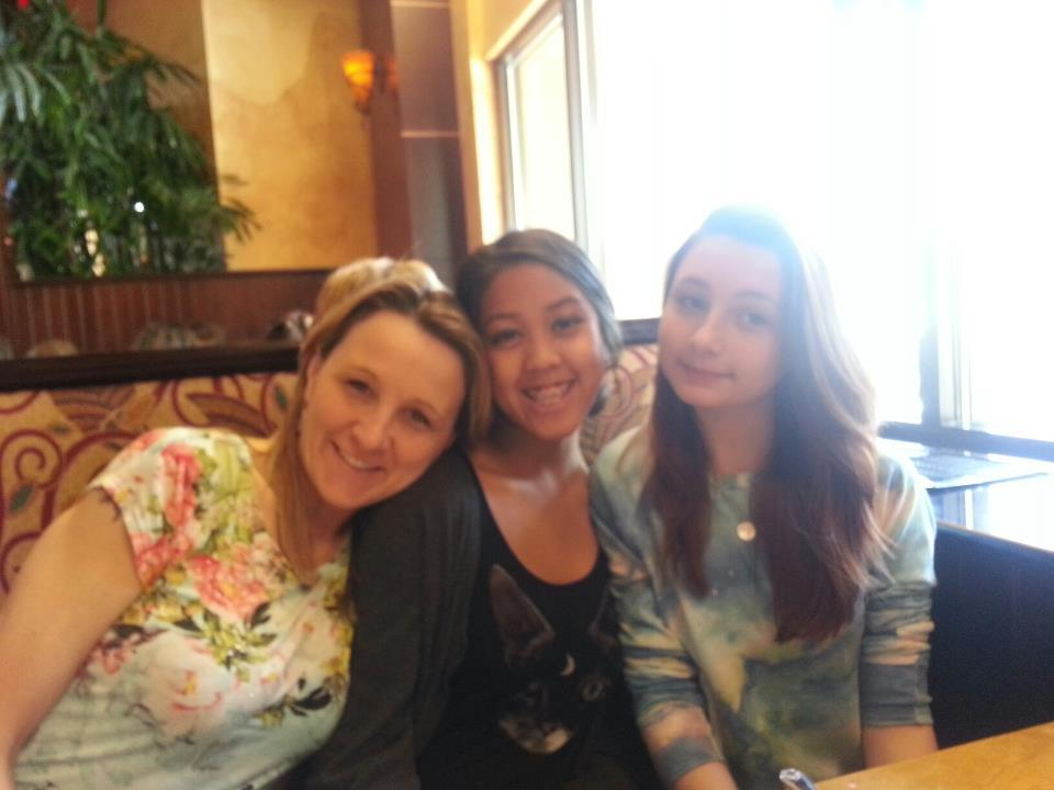 aw this was my first time at cheesecake factory with like my 3rd white family :-)