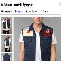The Denim Vests or up! #searchandrescue x #urbanrenewal @urbanoutfitters #supportthelocals