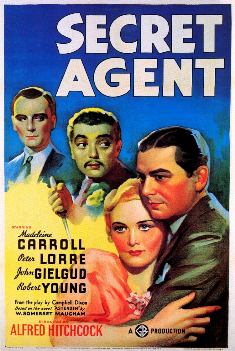 Hitchcock marathon movie of the night: Secret Agent (1936)