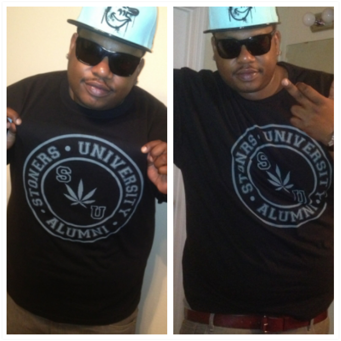 The homie BigD got freshly served in SUA tee….