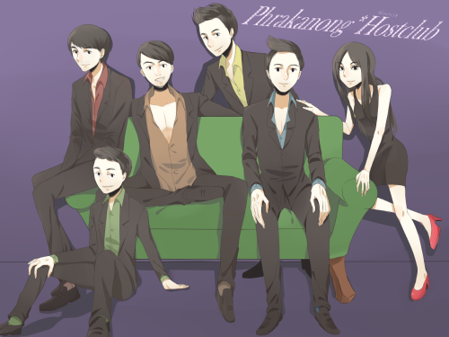 Phrakanong Hostclub (//´∀`//*) I'm alredy fangirl of them!