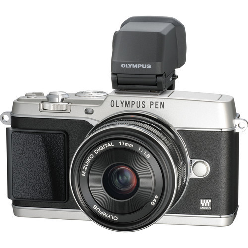 """Olympus has just announced the new E-P5, the fourth generation of their popular PEN series of interchangeable lens mirrorless Micro Four Thirds camera bodies, which features an eye-catching, retro design that's reminiscent of the original PEN F series from the 1960s and '70s. An optional viewfinder for the E-P5, called the VF-4, was also released as well as black versions of the M.ZUIKO 17mm f/1.8, 45mm f/1.8 and 75mm f/1.8 lenses.""  Read more on B&H InDepth"