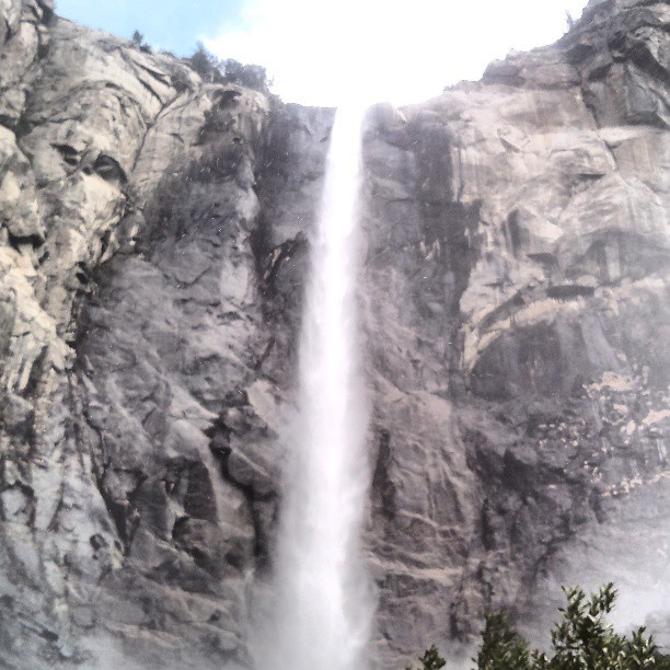 #Yosemite #BridalFalls #Waterfall #California #nature