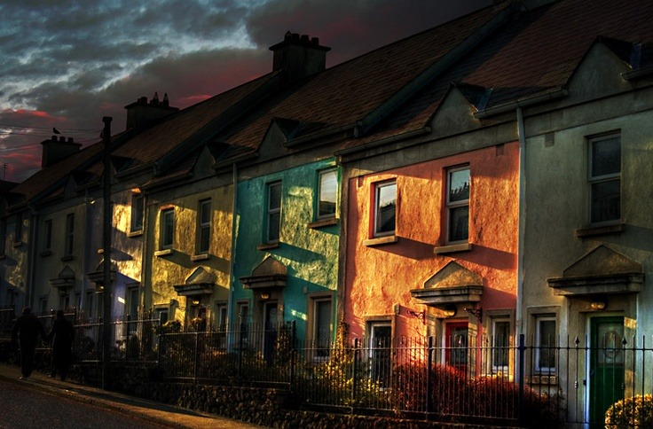 deepitforest:  Evening Light - Howth Village, County Dublin.