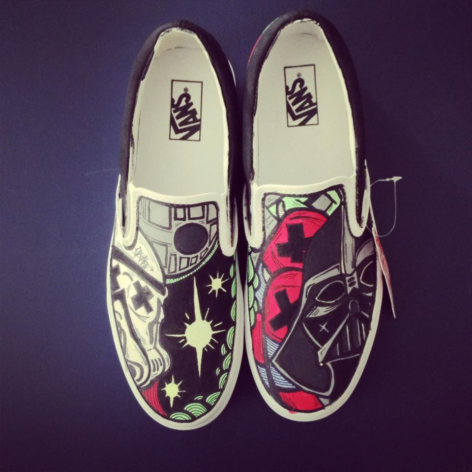 pyramid-graffiti:  SLOTH Star Wars Vans