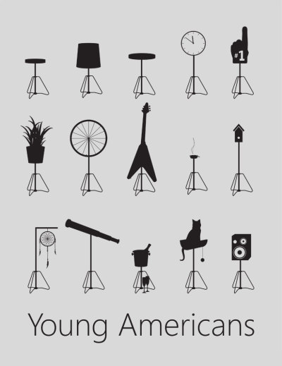 Young Americans furniture poster (via young americans by von tundra)