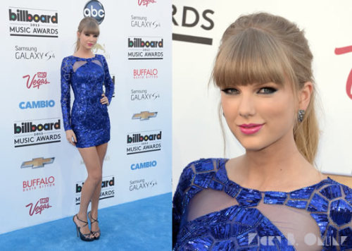Do YOU love Taylor Swift's blue Zuhair Murad look or is it too predictable?