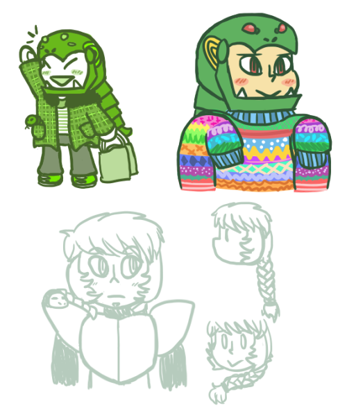 casual wear Snake enjoys comfy fleeces and vibrant sweaters and all of his clothes are too big on him