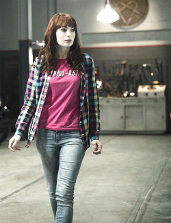 supernatural q felicia day spn spoilers Charlie Bradbury spnedit I posted something
