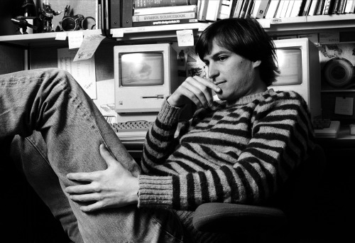 Jobs.  photo by Norman Seeff