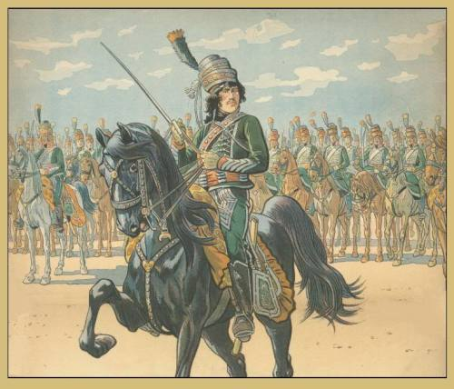 cuirassier:  Murat in his years in 12th chasseur a cheval regiment