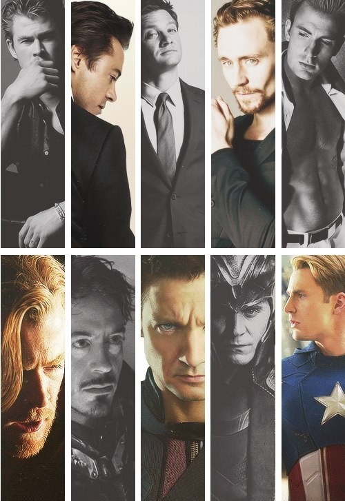 ctcjea10:  God the men of avengers are so sexy!!:)